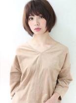 シンプルスタイル(髪型ショートヘア)