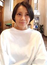 スッキリショートボブ☆(髪型ショートヘア)