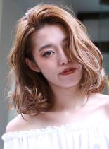 〜フリンジロブ〜(髪型ミディアム)