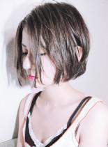 『 カット + カラー 』(髪型ショートヘア)