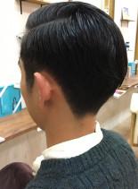 ヨーロピアンビジネスフォーマルスタイル(髪型メンズ)