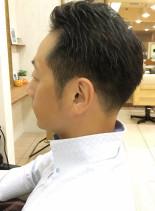 清潔感◎ナイスミドルのクリーンフェード(髪型メンズ)