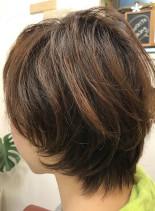 スタイル楽チンショートヘアー(髪型ショートヘア)