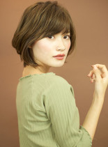 古川タカヨシのショートボブ(髪型ショートヘア)