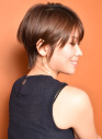 「素敵な大人女性のショートヘア」