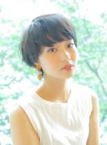 柔らかソフトマッシュ(髪型ショートヘア)