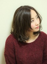 ★ほつれ感★ラフミディ(髪型ミディアム)