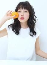 スウィートウェーブ☆(髪型セミロング)