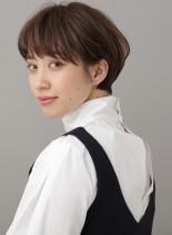 エフォートレスマッシュボブ(髪型ショートヘア)
