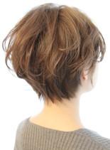 【30代40代】ボリュームショート(髪型ショートヘア)