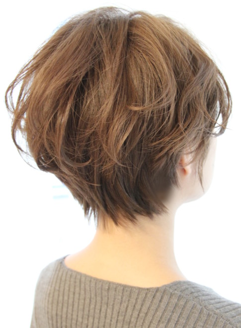 ショートヘア 30代40代 ボリュームショート Reunaの髪型 ヘア