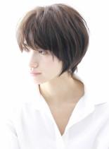 ☆大人のシンプルでヘルシーなショート☆(髪型ショートヘア)