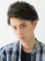女性ウケ王道☆間違いないメンズパーマヘア(髪型メンズ)
