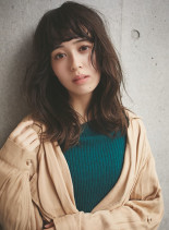 外国人風ゆるふわカール☆(髪型セミロング)