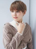 大人女子におすすめのシンプルショート(髪型ショートヘア)