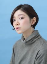 オリジナルナチュラルグラデーションボブ(髪型ショートヘア)