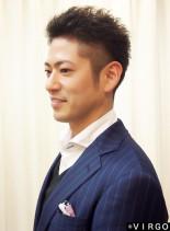 出来る男のツーブロックビジネススタイル(髪型メンズ)