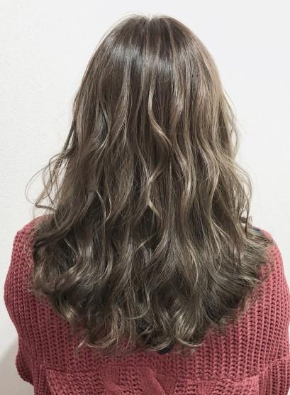 スタイリング簡単【フレンチウェーブ】(髪型ロング)