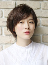 すっきり艶髪ショート(髪型ショートヘア)