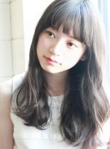 ツヤ感☆柔らかダークアッシュグレージュ☆(髪型ロング)