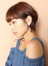 −5歳大人の美シルエットショート(髪型ショートヘア)