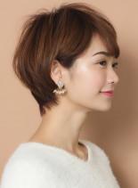 ☆柔らかい丸みとボリューム☆大人ショート(髪型ショートヘア)