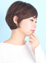 ナチュラルな魅力引き出すショートヘアー☆(髪型ショートヘア)