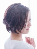 40代50代◎扱いやすい大人ショートボブ(髪型ショートヘア)