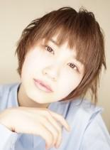 束感×ハネ感のマッシュショートボブ(髪型ショートヘア)