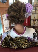 成人式アップスタイル(髪型ロング)