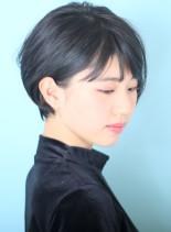 大人上品なショートボブ☆(髪型ショートヘア)