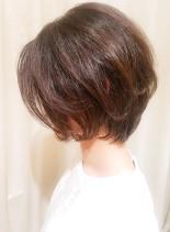 ママさん主婦さん似合う◎大人ショートボブ(髪型ショートヘア)