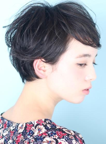 ☆ベリーショートでも女性らしい朝ラクヘア(髪型ベリーショート)