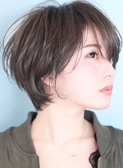 ショートヘア】☆大人のひし形マッシュショートボブ/BEAUTRIUM