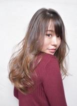 ふわふわ ナチュラル カール ロング(髪型ロング)