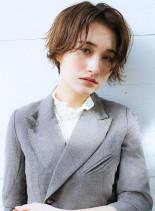 メンズライクなハンサムショート(髪型ショートヘア)
