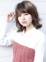 柔らかフェアリーレイヤースタイル☆(髪型ミディアム)