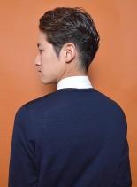 頭の形が綺麗に見える大人ビジネスショート(髪型メンズ)