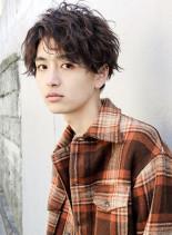 ★セミウェット無造作ショートマッシュ★(髪型メンズ)