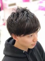 メンズパーマ(髪型メンズ)