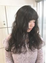 ゆるふわシルバー系(髪型ロング)