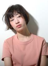 ストリートナチュラルショート(髪型ショートヘア)