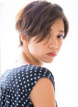 フレンチショート×骨格美(髪型ショートヘア)
