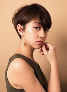 ☆大人のシンプルショートヘア☆(ビューティーナビ)