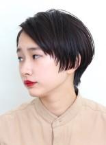 モード感あるクールショート(髪型ショートヘア)