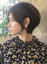 ☆小顔スタイル☆大人エアリーショート