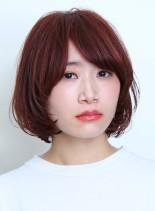 抜け感がある☆大人マッシュボブ(髪型ボブ)