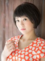 ハニーヘアショート (髪型ショートヘア)