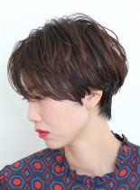 ハンサムな大人ショート(髪型ショートヘア)