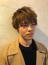 イケメンショートヘア(髪型メンズ)